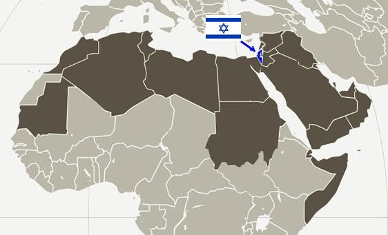 Arabische Liga im Verhältnis zu Israel